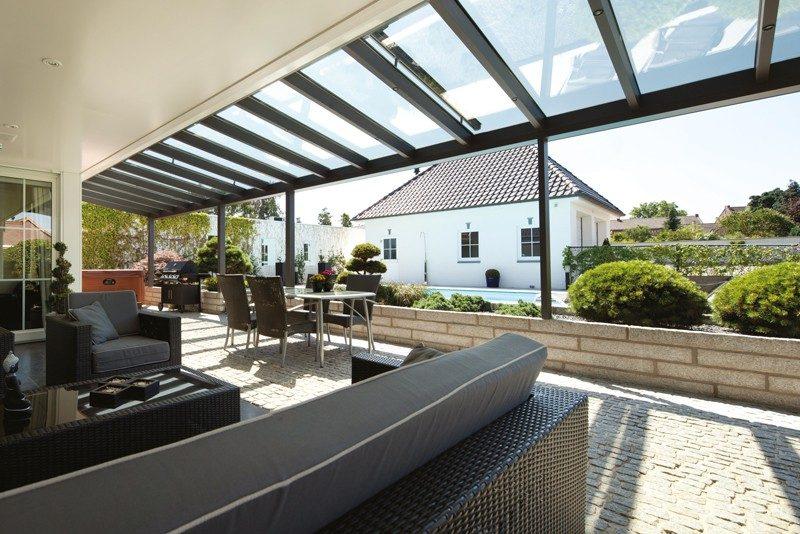 Terrassendach Mit Glas