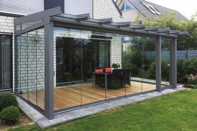 Terrassendach Mit Glas Thu