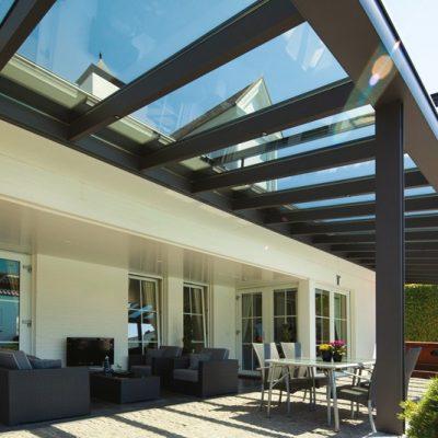 Terrassendach Mit Glas3